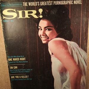 SIR ! MAGAZINE (ADULT)-1965- B. Traven - Author
